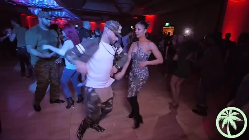 Танцуют Жорж Атака и Таня Ла Алемана