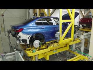 Производство BMW 3-Series 2019 (G20) На Заводе БМВ в Мюнхене