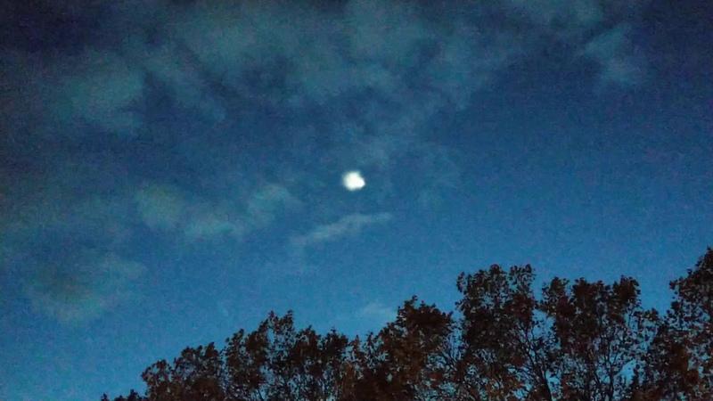UFOOVNIPAN VIDEO prise sur Grenoble ( France ) le 11/11/2019 a 17h52 ( SpaceX ? )
