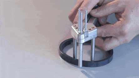 Mounting Rod Seals With Circlip Pliers GIF by GIFs For Everything Gfycat