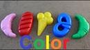 Learn Colors for Children sand molds Finger Family Song Nursery Rhymes