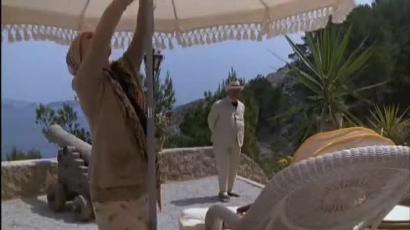 Evil under the Sun (Peter Ustinov, Maggie Smith, Diana Rigg) - Зло под солнцем (Питер Устинов, Мэгги Смит, Дайана Ригг) 1982