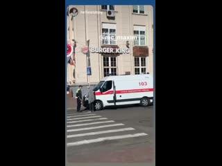 В Минске из-за репетиции парада победы не пропустили скорую помощь
