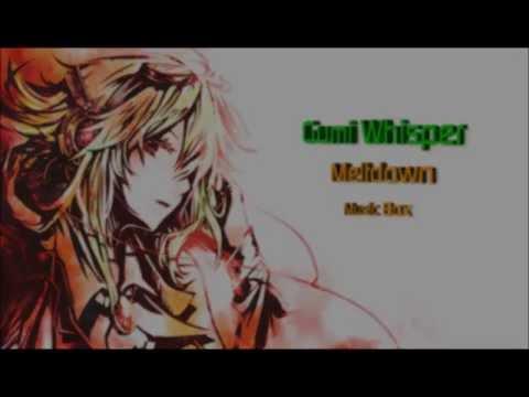 GUMI Whisper Meltdown Music Box VOCALOID3