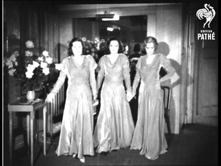 Here Comes The Bridesmaids' Dresses! (1931)