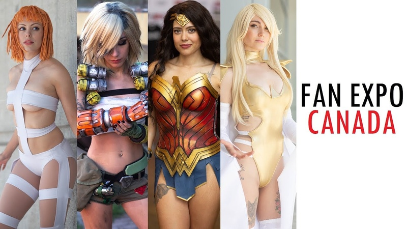 THIS IS FAN EXPO CANADA COMIC CON 2019 TORONTO BEST COSPLAY MUSIC VIDEO BEST COSTUMES ANIME CMV