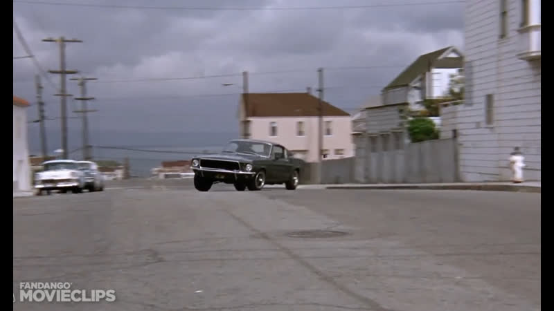 Bullitt 1968 San Francisco Car Chase Scene 4 10