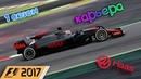 F1 2017 КАРЬЕРА 1 СЕЗОН - ИСПАНИЯ КВАЛИФИКАЦИЯ 12