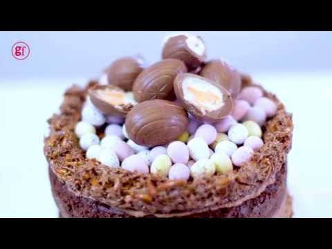 How to make an Easter nest cake - BBC Good Food