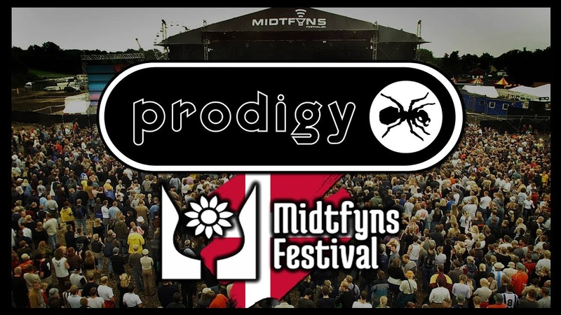 The Prodigy LIVE AT MIDTFYNS FESTIVAL DENMARK 4th July 1998