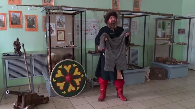 Кольчуга в Клубе военно исторической реконструкции г Тара 176