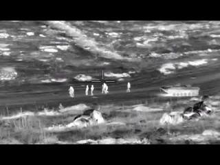 Опубликовано видео уничтожения боевиков спецназом
