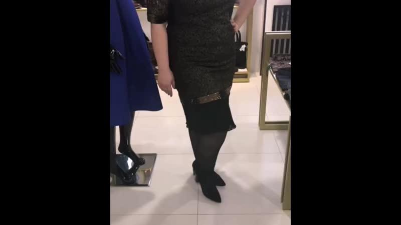 Платье plussize