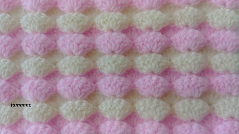 Deniz Kabuğu Bebek Battaniye Modeli