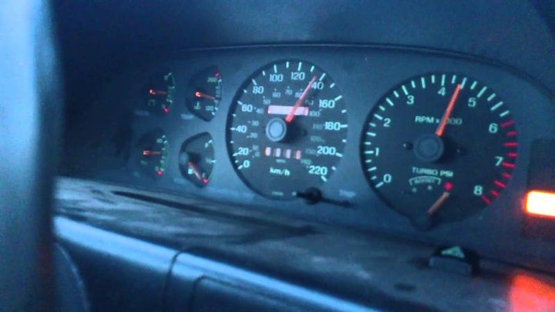 Ford Probe GT 2.2turbo vs Audi a4 2.8 v6 rolling race