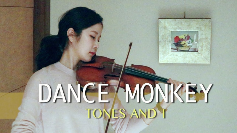 Dance Monkey Tones and I by ziaa violin cover