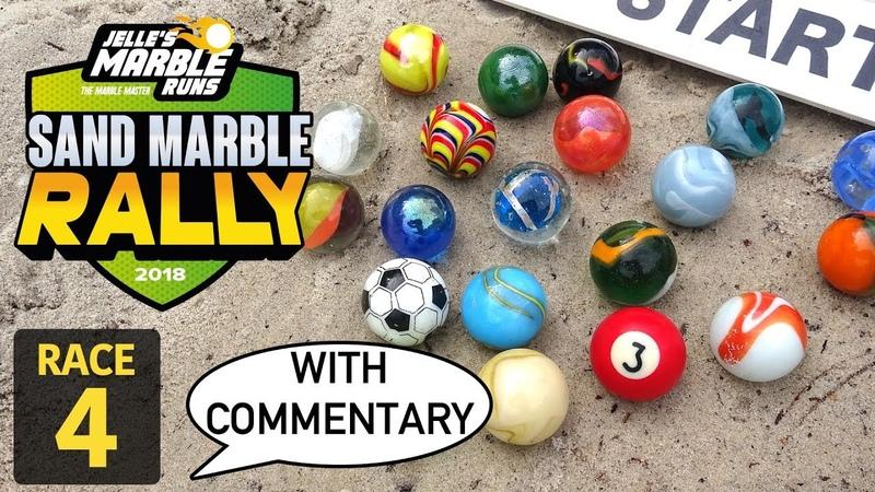 Jelle's Marble Runs Sand Marble Rally 2018 Race 4