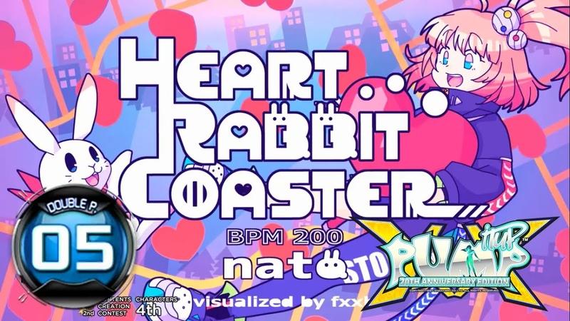 PUMP IT UP XX Heart Rabbit Coaster DP5 FREESTYLE Update 2 0 ✔
