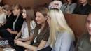 Встреча председателя ППОС И Ю Дробязко со студентами первого курса 2019