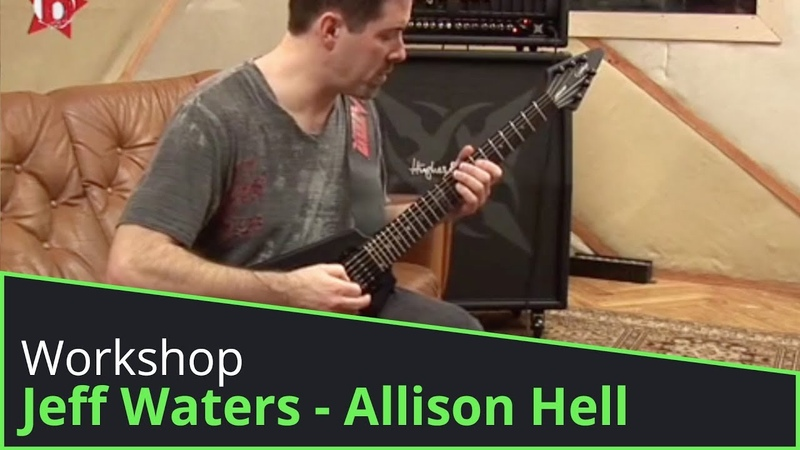 Jeff Waters Guitar Tutorial - How To Play Allison Hell