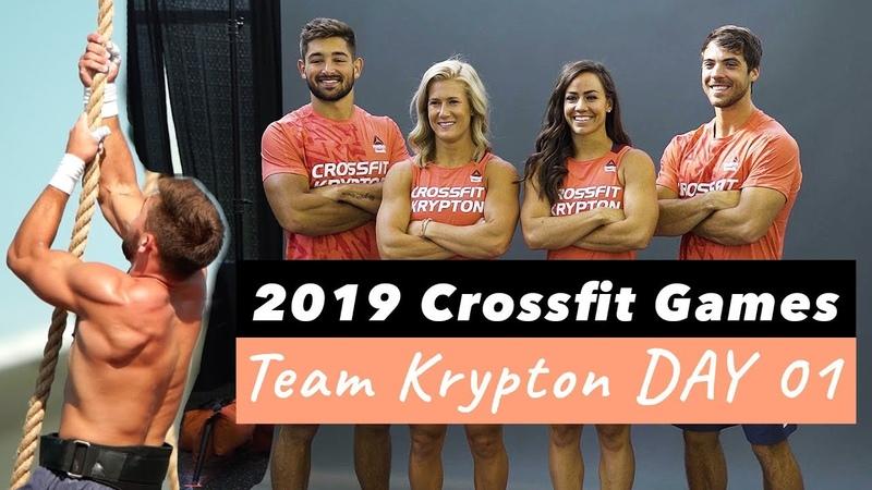 CamilleBaz   2019 Crossfit Games Team Krypton Day 1
