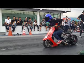 Scooter drag