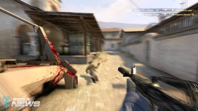 CS:GO Craziest M4A1 Frag Ever? Fnatic Flusha vs LGB eSports @ EMS ONE Katowice