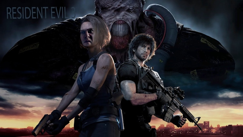 Resident Evil 3 Remake 1 Веселья час и боль пи*дюлин