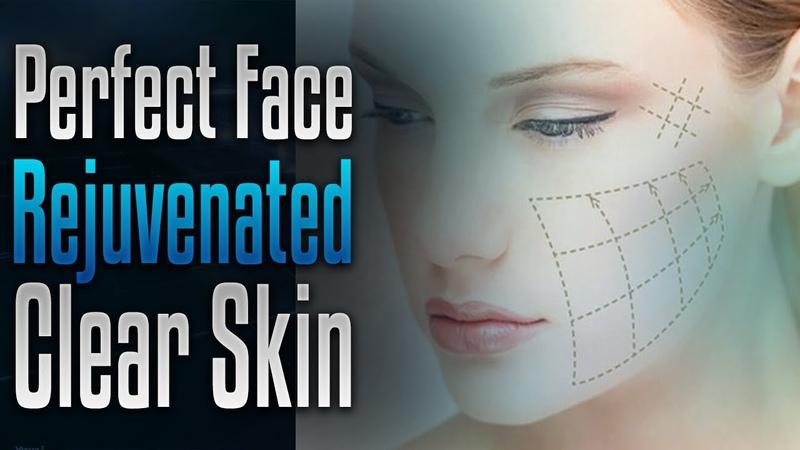 🎧 Perfect face facial symmetry, Radiant rejuvenated skin, Alpha wave subliminal affirmations