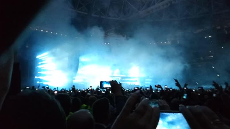 Rammstein - Du Hast (СПБ Газпром Арена 2.08.2019)