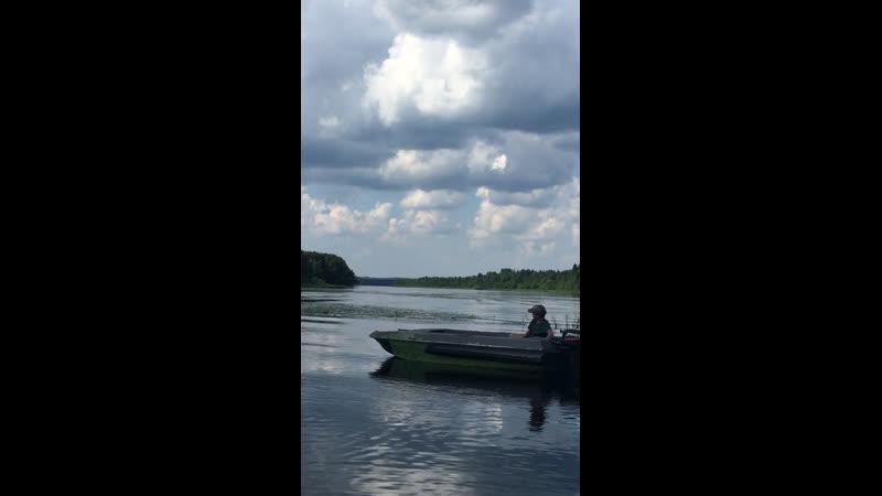 Рыбалка на реке Водла