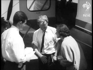 Swedish Family Emigrate To Australia In Own Plane (1960)