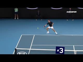 Топ-5 крутейших ударов пятого дня Australian Open