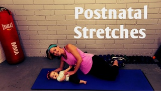Postnatal Stretches for New Moms----Help Pain and Tightness After Baby