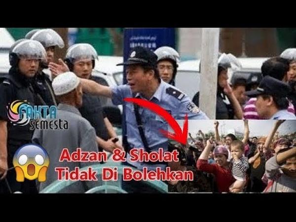 Parlemen Xinjiang Melarang Adzan Sholat Hijab dan Simbol Islam