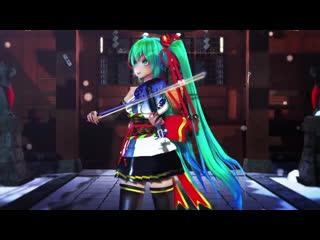 #mmd# senbonzakura ###-violin ( cover violin-lindsey stirling )