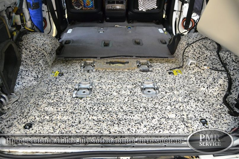 Комплексная шумоизоляция Toyota Land Cruiser 200, изображение №28