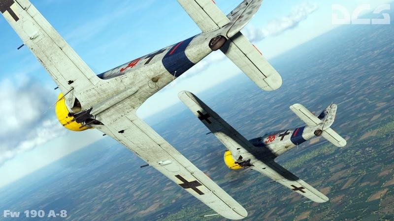 DCS: Burning Skies |New DM| Fw 190 A-8 dogfight over Anapa [2RGT GRUPPO VOLO ITALIANO]