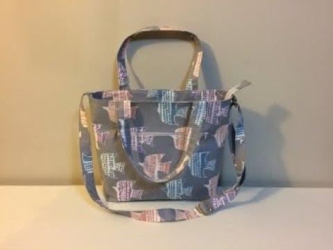 DIY Tote Bag Part 1 of 2 | DIY Shoulder bag | DIY BAG |BAG SEWING TUTORIAL | Coudre un sac | Bolsa