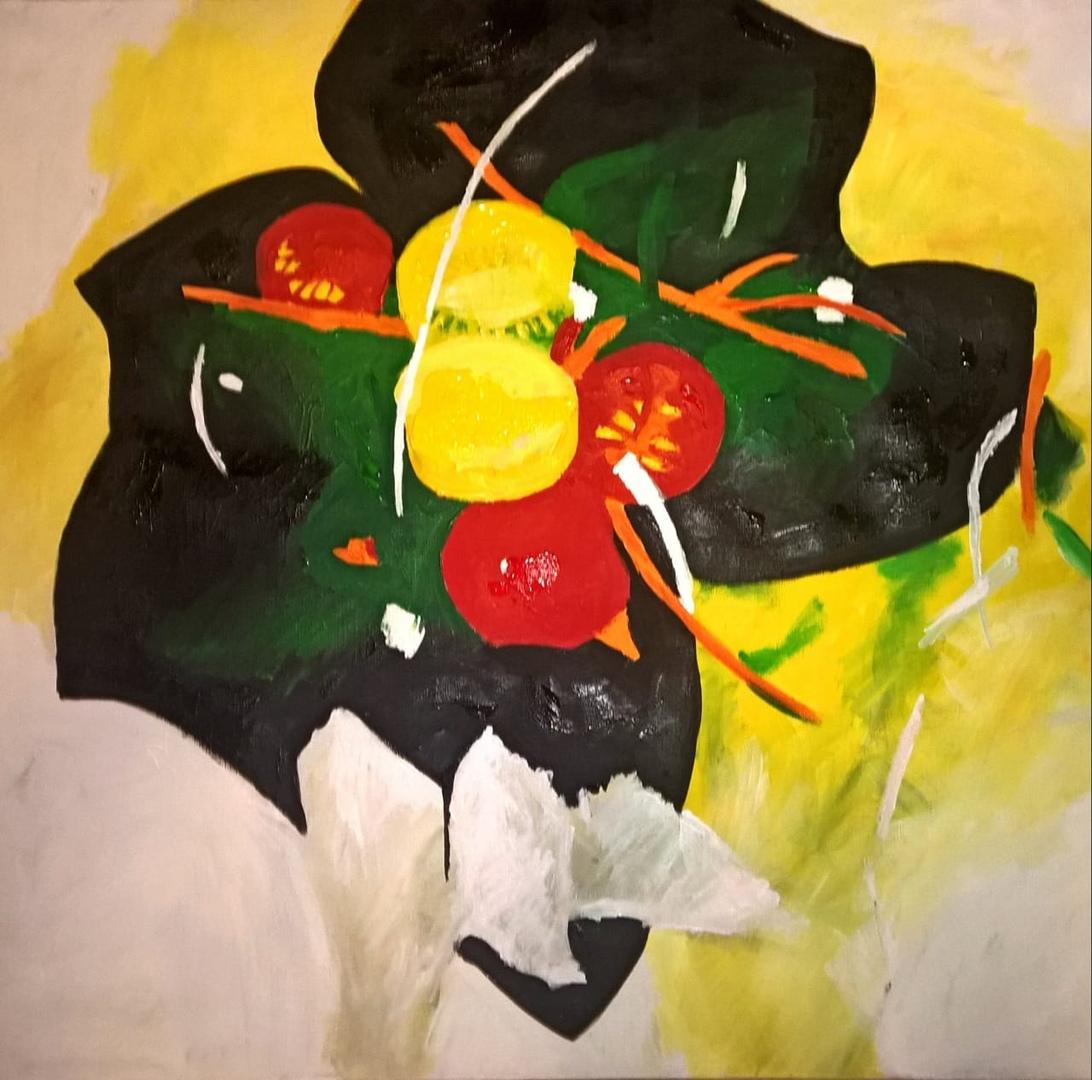 """Выставка """"Эпицентр цвета"""" в  SO Sofitel."""