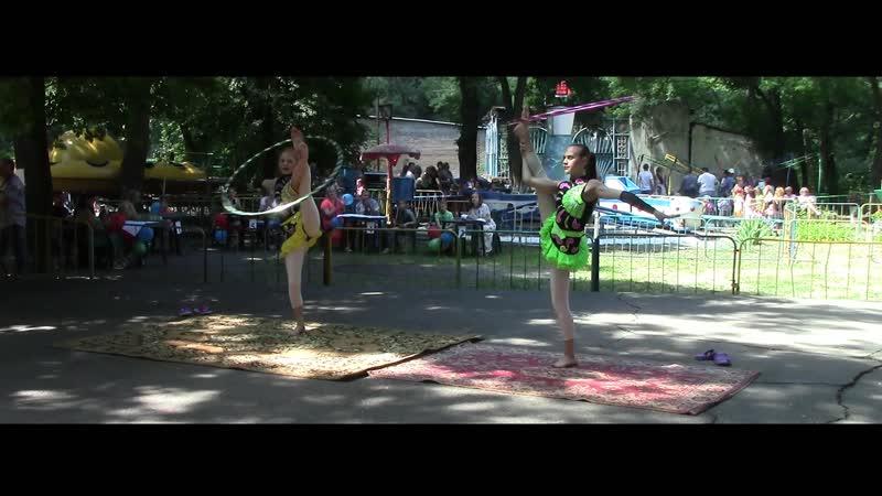 акробатические хулахупы - Цирковой коллектив Молодость