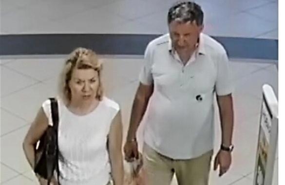 Устанавливаем личности женщины и мужчины, которые забрали чужой кошелёк
