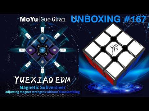 Unboxing №167 Moyu GuoGuan YueXiao EDM 3x3x3