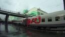 Россия из окна поезда Кемерово Москва серия 9