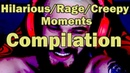 Pewdiepies Hilarious/Creepy/Rage Moments of Getting Over It Compilation