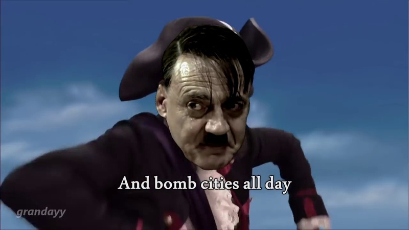 You are a Pirate, but is Adolf Hitler