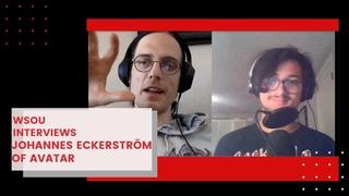 DJ Valentino interviews Johannes Eckerström, lead vocalist of Avatar