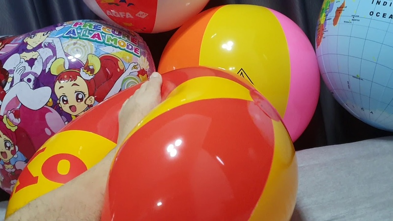 Super elastic and soft! More treated inflatables and beach balls 3