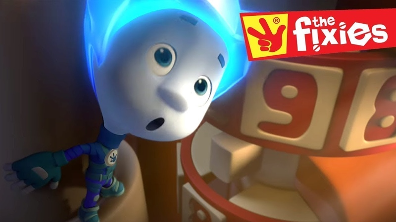 The Fixies ★ THE COMBINATION LOCK ★ Fixies English Cartoon For Kids