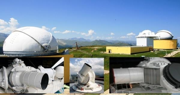 Лазерный оптический локатор Кроны на горе Чапал. (кредит: НПК СПП)